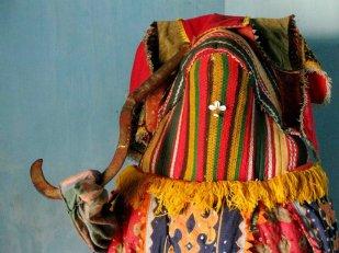 Egúngún, Photograph by Timothy R. Landry (2011). Benin.