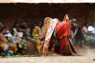 Egúngún, Agbao. Photograph by Timothy R. Landry (2011). Benin.